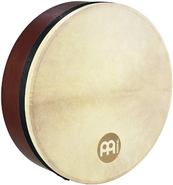 Meinl Percussion 14 inch Goat Head Bendirs Frame Drums - Brown - FD14BE